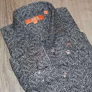 Tallia Men's Long Sleeve Button Up